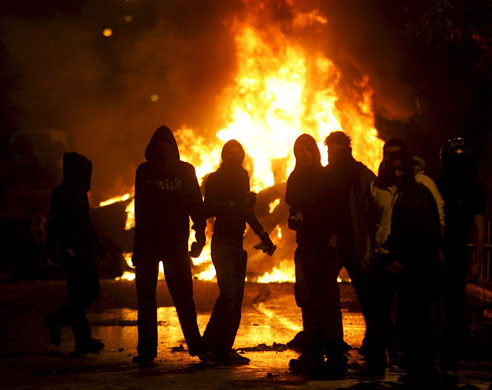 Gallery Riots in Athens: Rioting breaks out in Greece over death of 15-year old
