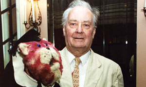 Oliver Postgate And Bagpuss in 2001