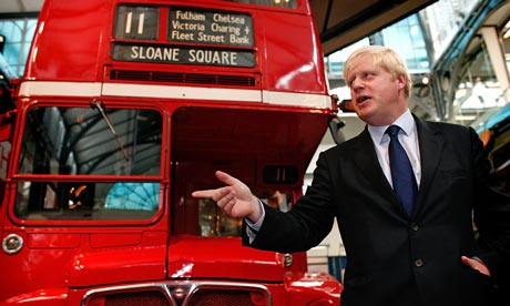 Boris Johnson announces competition for new Routemaster bus
