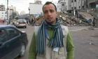 Hatem Al Shurrab, an aid worker for Islamic Relief