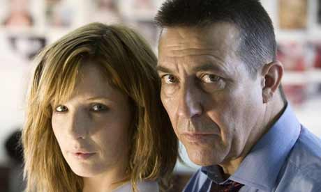 Kelly Reilly and Ciaran Hinds in ITV1's Above Suspicion.