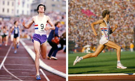 Sebastian Coe and Steve Cram