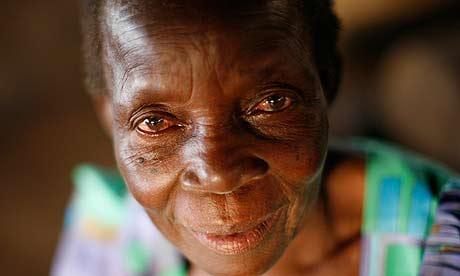 An older woman from Katine. Life can be especially hard for older people in ...