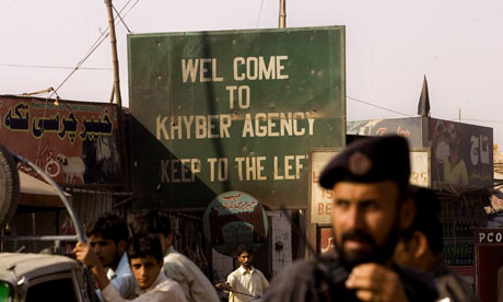 The border crossing into Khyber Agency