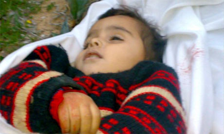 Amal Abed Rabbo, two: one of the children killed during Israeli raids on Gaza
