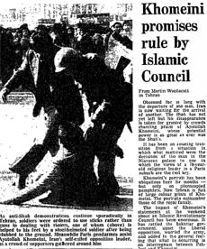 Iranian Revolution, 30 years: Khomeini promises...