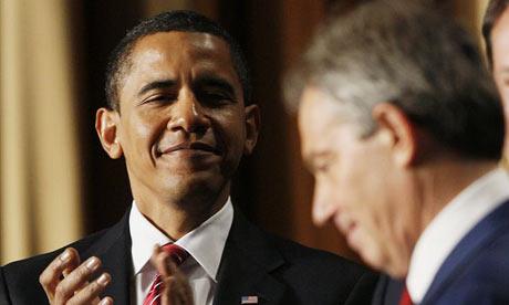 Barack Obama and Tony Blair
