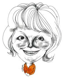 Hazel Blears by Nicola Jennings