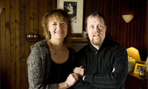Sally Beamish and brother Christopher