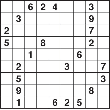 Agile image within medium sudoku printable