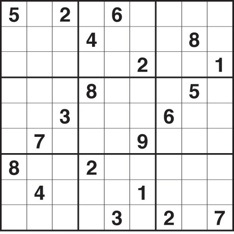 Hard Sudoku Printable on Sudoku 1 215 Hard Life And Style The Guardian