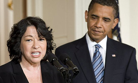 Obama picks first Hispanic supreme court justice