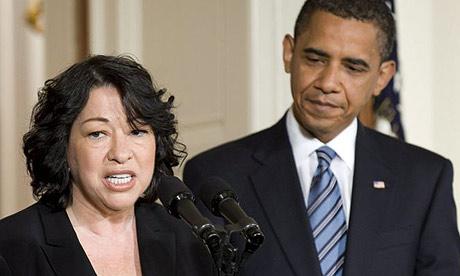 Obama picks first Hispanic supreme court justice