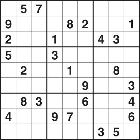 Sudoku 3 June 2009