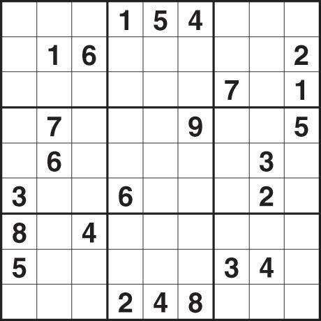 Sudoku 4 June 2009