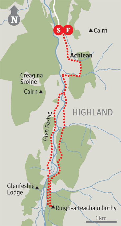 Achlean map