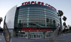 The Staples Centre in Los Angeles