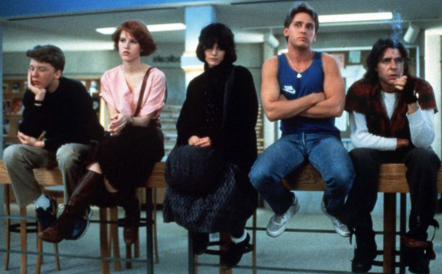 the films of john hughes director of the breakfast club