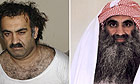 Photos show Khalid Sheikh Mohammed in 2003, left, and July 2009.