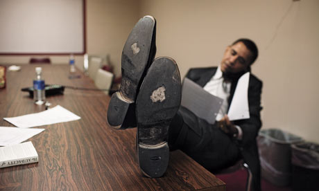 Barack Obama - shoes