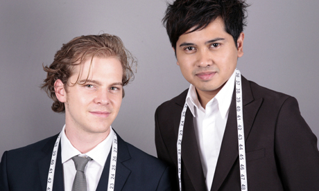 Indochina co-founders Kyle Vucko, chief executive, and Heikal Gani, chief designer