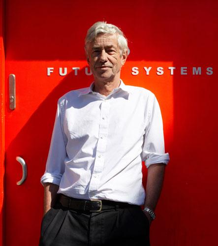 Jan Kaplicky in his London Future Systems studio