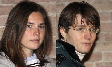 amanda knox trial evidence. Amanda Knox and Raffaele