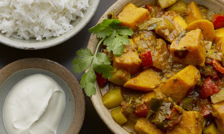 The new vegetarian: Yotam Ottolenghi makes two potato vindaloo | Life ...