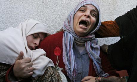 Women at Kamal Edwan hospital, in Beit Lahiya