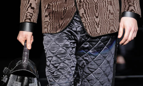 Dolce&Gabbana quilted trousers, Men's fashion week 2009