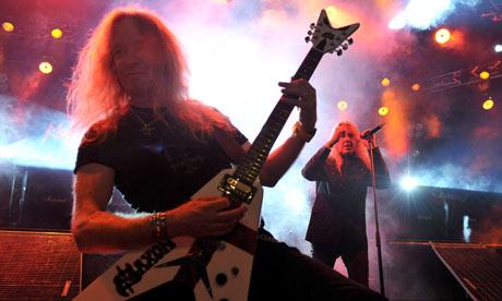 Saxon in concert