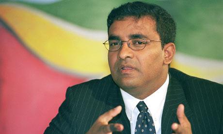 Fake Facebook profile angers Guyana president Bharrat Jagdeo ...