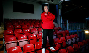 Histon coach John Beck