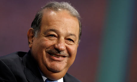 Top of the Forbes rich list: North American billionaire Carlos Slim Helú. Photograph: Jason DeCrow/AP - Carlos-Slim-Hel--001