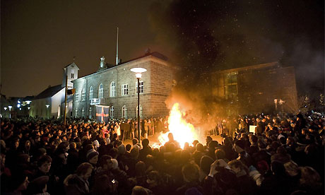 Iceland protests