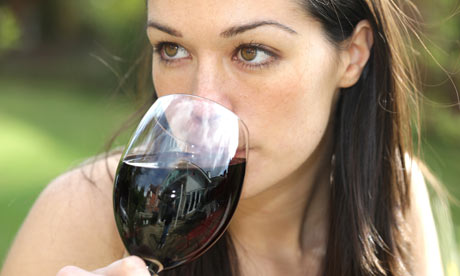 Young woman drinking a gl 002 6 Reasons For Women To Have A Glass Of Wine Every Day
