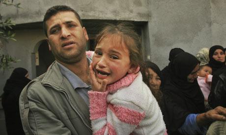 Relatives mourn a Palestinian...</p> </div><!--archive-text--> </li>  <li>  <div class=