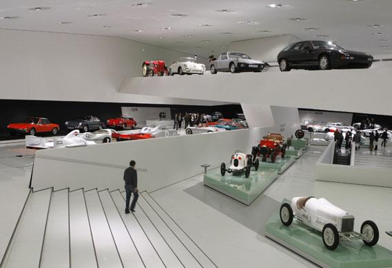 Rebuilt Porsche Museum Opens In Stuttgart Business The