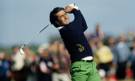 Seve Ballesteros at the Open