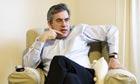 Gordon Brown at his Scottish Home