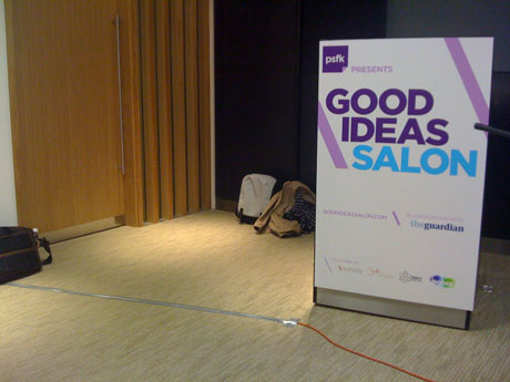 The one-day PSFK Good Ideas Salon