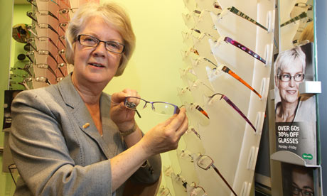 Dame Mary Perkins of Specsavers