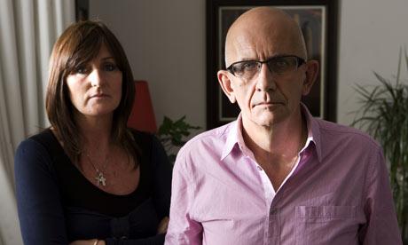 Frank Deasy award-winning Irish screenwriter with his wife Marie