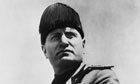 Benito Mussolini in Dress Uniform