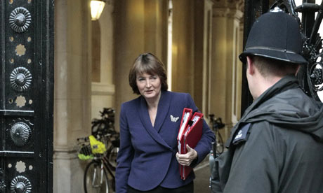 Harriet Harman at Downing Street