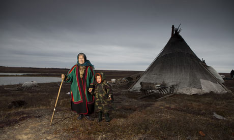Yamal Peninsula impact of climate change on Nenet people and their reindeer herd in Siberia