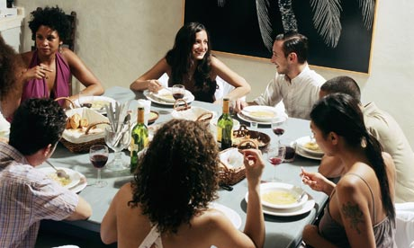 Modern manners the dinner party guest life and style - Menu cena con amigos en casa ...