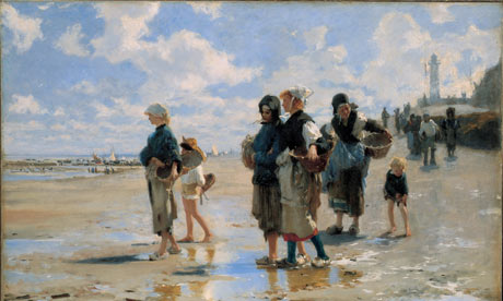 Setting out to Fish, by John Singer Sargent