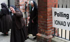 Carmelite convent nuns leave polling station in Dublin