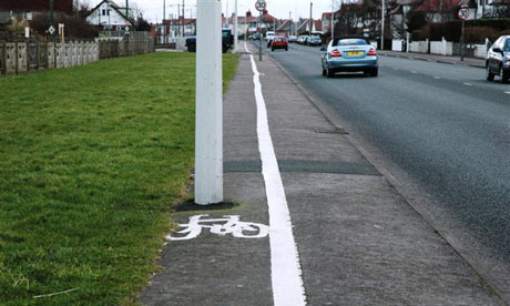 Crap Cycle Lanes : by Warrington Cycle Campaign, published by Eye Books